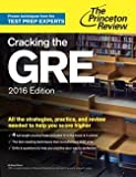 img - for Cracking the GRE with 4 Practice Tests (Paperback)--by Doug Pierce [2015 Edition] book / textbook / text book