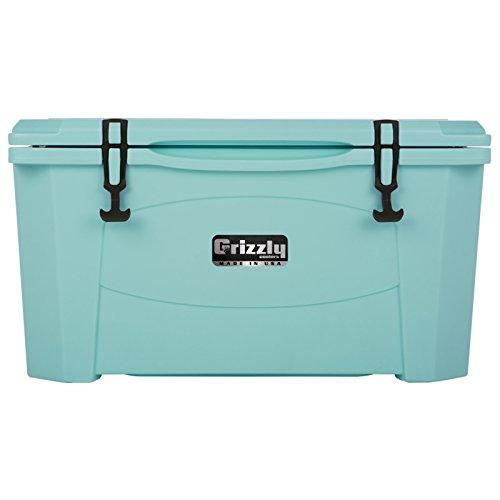 Grizzly 60 quart Sea Foam Green Cooler (Grizzly 60 Cooler compare prices)