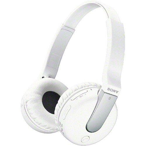 Sony Noise Canceling Wireless Bluetooth Headphones (White)
