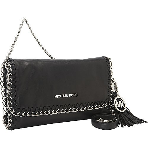 Michael Kors Chelsea Medium Messenger Bag In Black