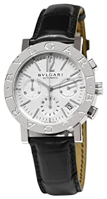 Bvlgari Chronograph Stainless Steel Mens Watch BB38WSLDCH.N