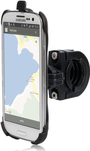 Wicked Chili - Supporto per Samsung Galaxy S3 i9300 S III da montare sul manubrio di bicicletta e moto, posizione orizzontale o verticale