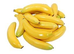 Kiera Grace Decorative Fruit Vase Fillers, 15 Bananas