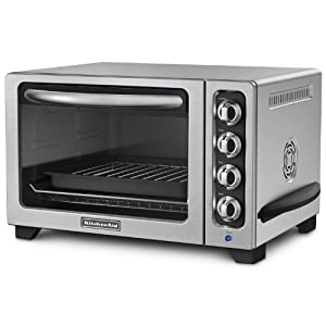 KitchenAid KCO223CU Convection Countertop Oven, Contour Silver