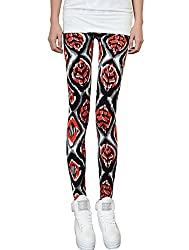 Abstract Style Printed Leggings Pant, NY2193
