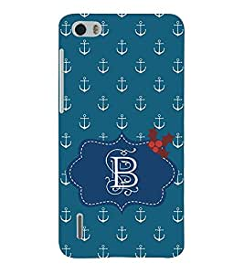 EPICCASE anchor of B Mobile Back Case Cover For Huawei Honor 6 (Designer Case)