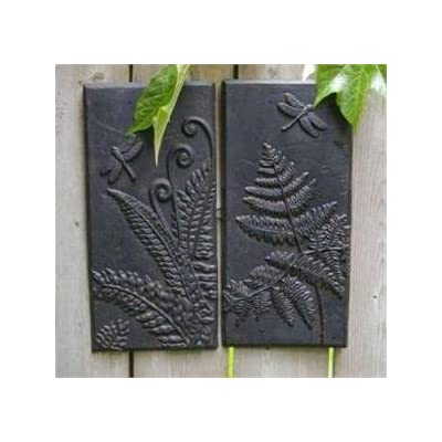 Amazon.com: Fern Cast Iron Wall Panel-set of 2