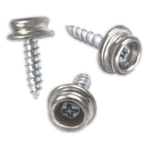 Set of 25 Snap Button Screw-In Studs