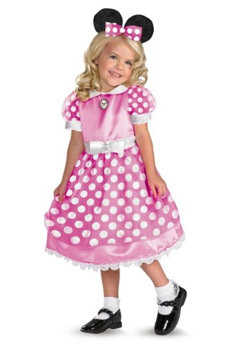 Minnie Mouse Pink Costume - Toddler/child Costume