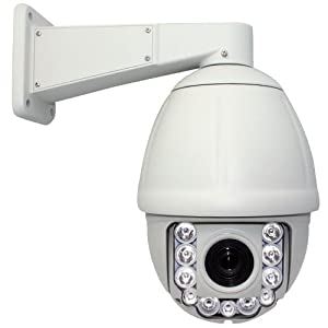 NEW 600TVL 30 Times Zoom IR High Speed CCTV Outdoor/Indoor Security PTZ Dome Camera - 1/4