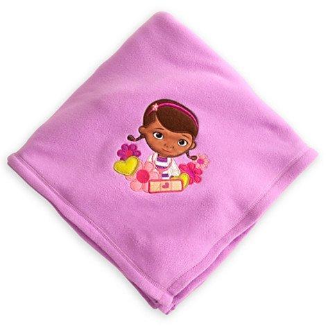 Disney Store Doc Mcstuffins Fleece Throw Blanket