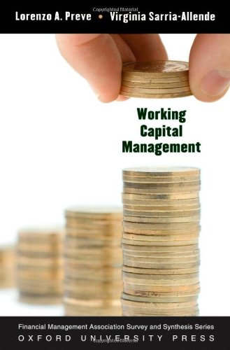 Working Capital Management (Financial Management...