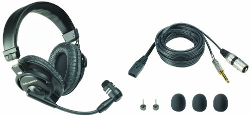 Audio-Technica BPHS1 Broadcast Stereo Headset with Dynamic B
