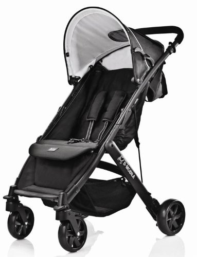 Britax B-Mobile 4 Lightweight Stroller (Black Thunder)