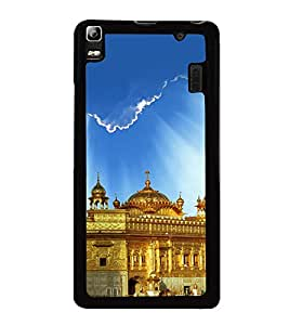 printtech Golden Temple Punjab Back Case Cover for Lenovo A7000