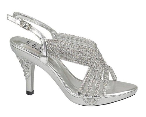 chic-feet-womens-party-diamante-evening-wedding-bridal-prom-mid-heel-sandals-silver-size-6