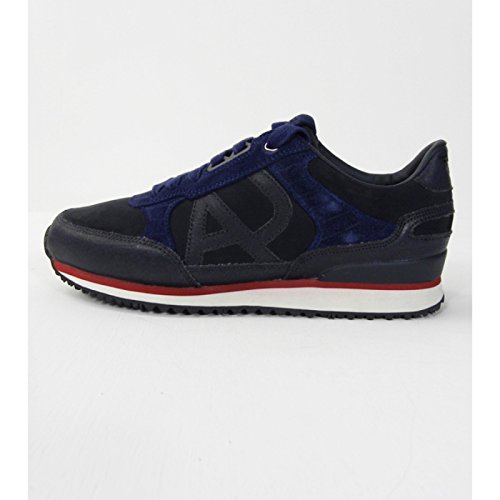 SCARPE UOMO, SNEAKER BLU, ARMANI JEANS, ART. B651244 (IT 46.5 / US 12 / UK 11.5, BLU)