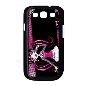 Amazon.com: Plastic Back Phone Case For Girly Print With Monster High