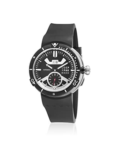 CCCP Men's CP-7006-01 Kashalot Black Silicone Watch