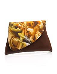 Voylla Voylla Brown Colored Clutch Bag