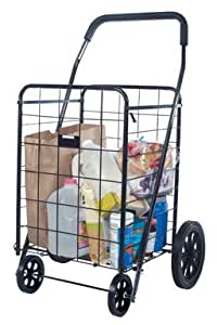 "Apex Shopping Cart Plastic Rubber Plastic Rubber 10"",15.7"",17.7"",21.5"",23.6"",23.6"" H X 17.7"" W X 15."
