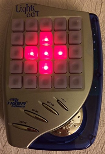 LIGHTS OUT Electronic Handheld Game (2002 Edition) - 1