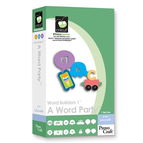 Cricut Classmate Cartridge, Word Builders 1 A Word Party