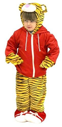 Daniel Tiger's Neighborhood Tiger Cub & Red Jacket Costume