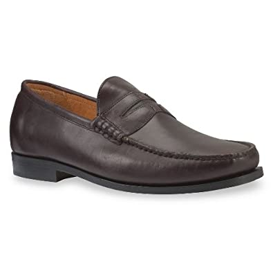 Timberland Men's Cabarete Penny Loafer Shoe (Dark Burgundy) - 9.5 - Wide