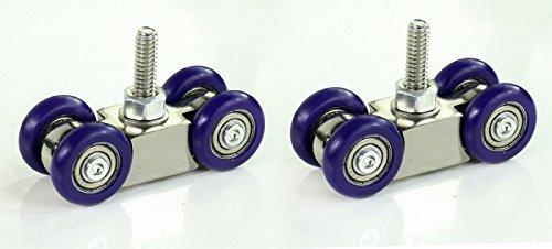 Flyfilms Wheels for DSLR Video Movie Camera Table Skater Dolly Rail Rig Floor Track