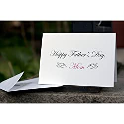 """Happy Father's Day, Mom"" Card"