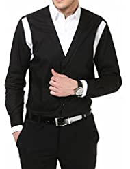 Dazzio Men's Slim Fit Cotton Casual Shirt