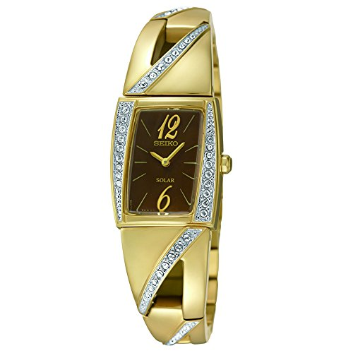Seiko Women's SUP248 Analog Display Japanese Quartz Gold Watch