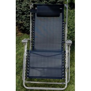 Bliss Gravity Free Folding Recliner with Sun Shade and Drink Tray by Bliss Hammocks