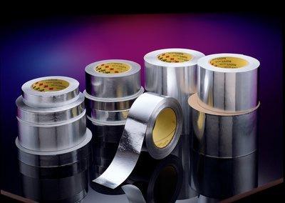 3M(TM) Lead Foil Tape 420 Dark Silver, 3/4 in x 36 yd 6.8 mil [PRICE is per ROLL]