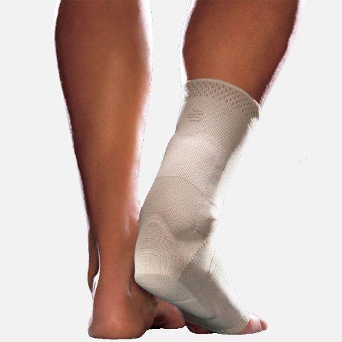"AchilloTrain Bauerfeind Hamstrings Active Bandage - 6.69"" - 7.48"", Black Left Side"