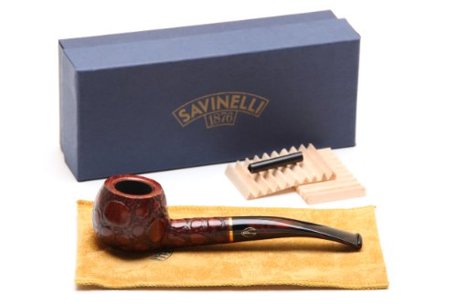 Savinelli Alligator Brown 315 Tobacco Pipe