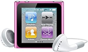 Apple MC692QL/A iPod Nano (6ª generación) - Reproductor MP3/MP4 8GB - Rosa