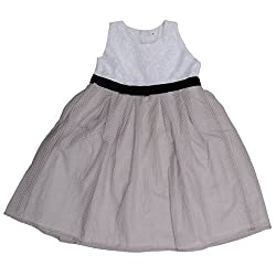 Buttercups Girls' 3 years Cotton Dress (ClC01D, Lavender, 23 inches)