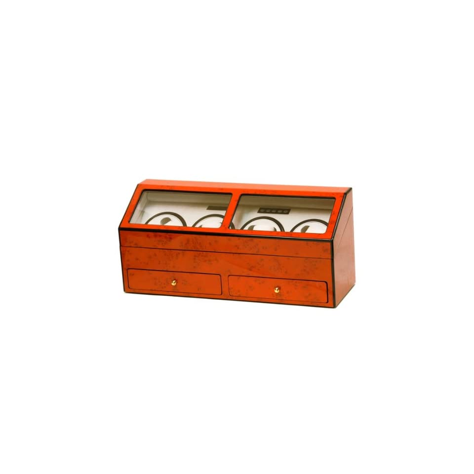 Eight automatic watch winder burl wood color BEL 644 BB Watches
