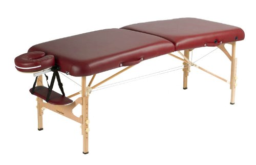 The Prime Portable Massage Table with Carry Bag and Accessories