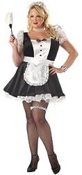 California Costumes Women's Fiona,The French Maid Costume