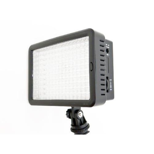 PH-LED-160-FV70 Dimmable Ultra High Power 160 LED Panel Digital Camera /Camcorder LED video light kit