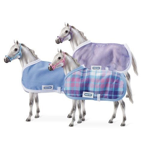 Breyer Horses Stable Blanket and Halter - Colors and Styles May Vary by Breyer TOY (English Manual)