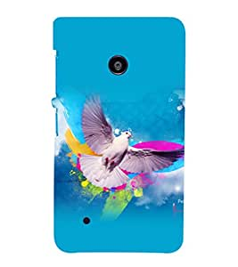printtech Bird Independence Wings Back Case Cover for Nokia Lumia 530::Microsoft Lumia 530
