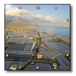 Aerial view of greenhouses in Demre, Antalya,