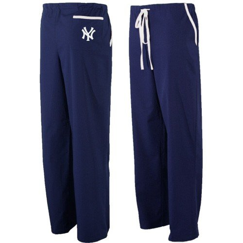 New york yankees navy blue scrub pants small