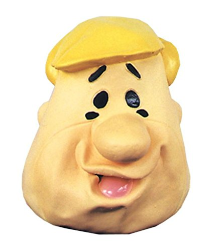 Barney Rubble Carrtoon Deluxe Party Latex Adult Halloween Costume Mask