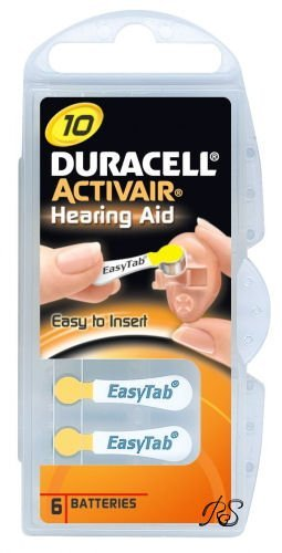 Duracell SIZE 10 Hearing Aid Batteries - 60 pack