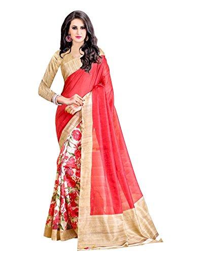 Trendz-Womens-Cotton-Silk-Saree-TZSanskrutiRed